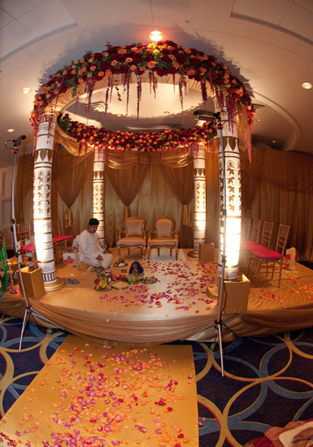 The wedding was photographed by Jeff Kolodny Photography with decor by