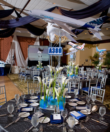 Themes linzi events for Airplane decoration