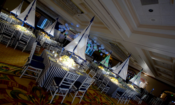 Nautical Theme For A Bar Mitzvah Celebration Linzi Events