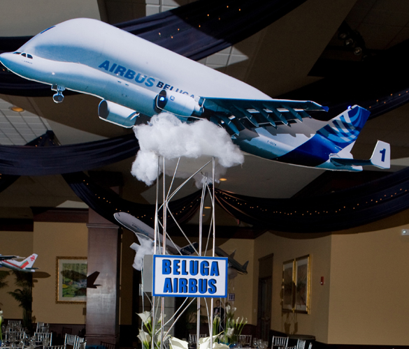Barmitzvah Airplane Theme