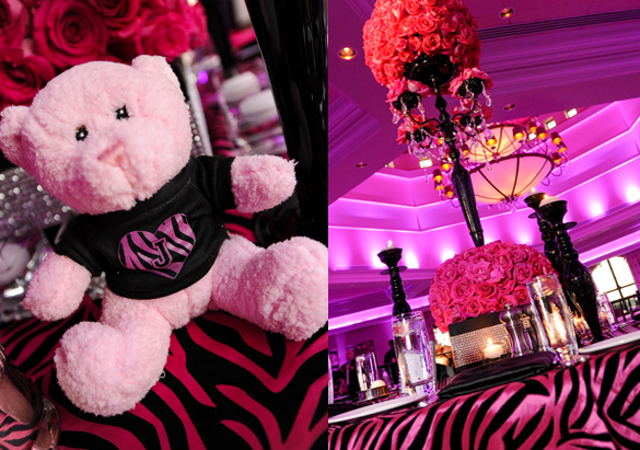 Animal-Zebra Theme Bat Mitzvah