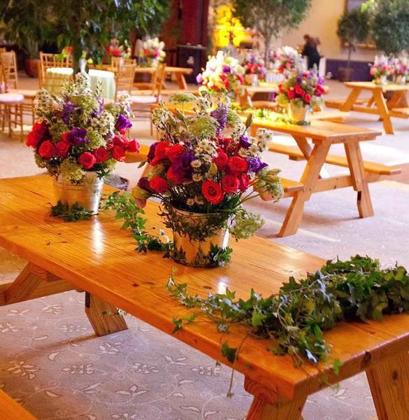 Picnic Tables Linzi Events