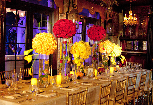 Floral decor royal table