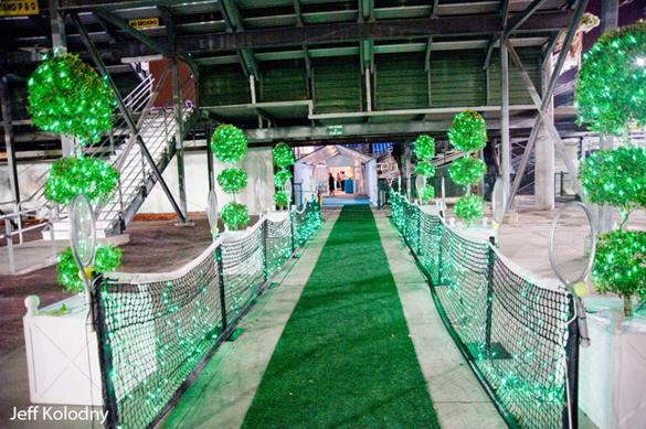 tennis entrance