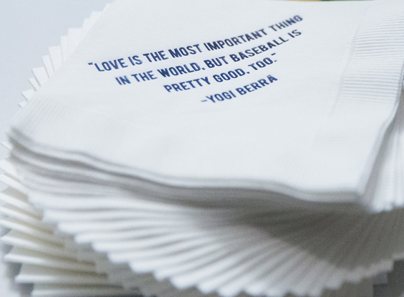 Blog napkin