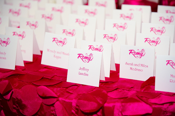 Batmitzvah - Boca Raton _ placecards
