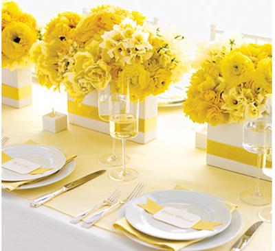 Martha Stewart Wedding Table Decoration Ideas