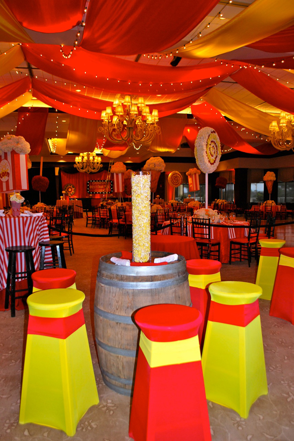 bat mitzvah carnival theme spencer s celebration linzi events