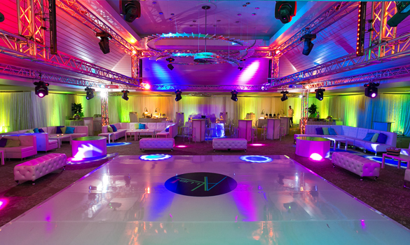 Ultra Club Dance Theme Bar Bat Mitzvah Or Sweet Sixteen