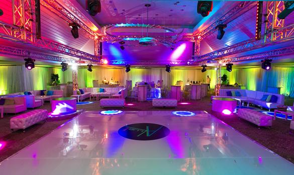 Ultra Club Dance Theme Bar Bat Mitzvah Or Sweet Sixteen