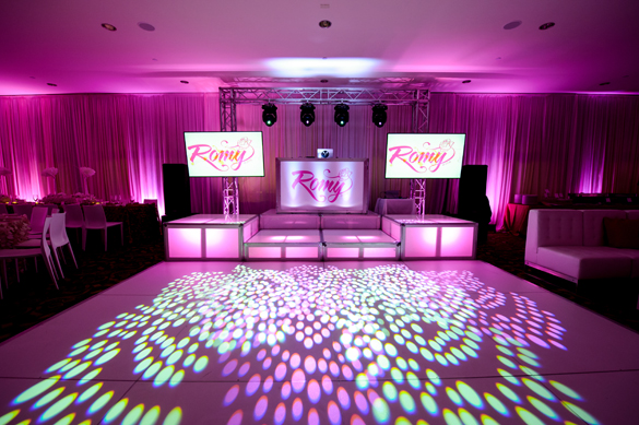 Batmitzvah Boca Raton Room Shot
